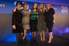 Winners of the Georgina Henry Award for 2018 are Olivia Crellin (founder) and Laura Garcia (co-founder) with Press Pad
