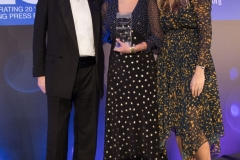 The winner of Young Journalist of the Year Laura Hughes