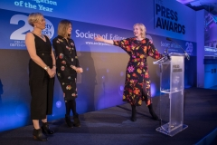 Investigation of the Year 2018 goes to the Cambridge Analytica Files by the Observer UK team of  Carole Cadwalladr, Emma Graham-Harrison and Mark Townsend