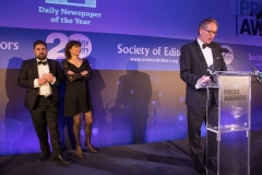 Daily Newspaper of the Year 2018, is The Times