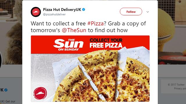 The Sun - Pizza Hut