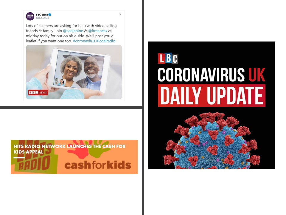 From Video Calling Guides To Coronavirus Campaigns Radio Stations Adapt To Covid 19 Society Of Editors