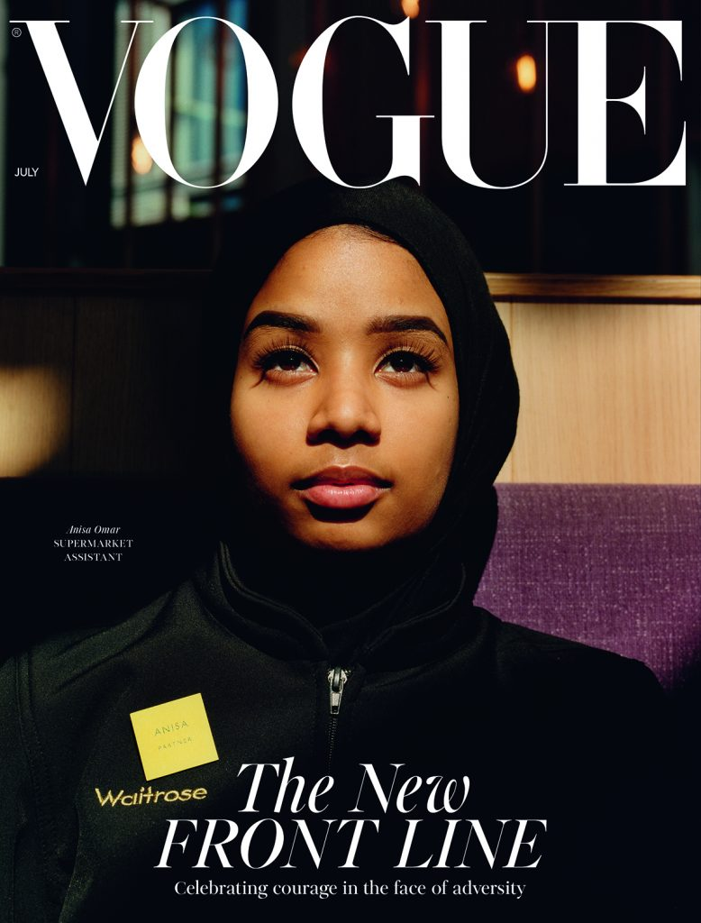 vogue frontliners, <b> Vogue showcases women frontliners in latest July issue </b>